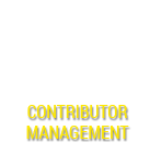 Contributor Management - media management software
