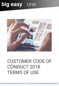 Customer code of conduct
