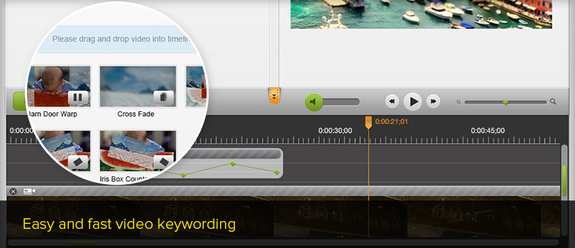 Video Editor – instant and easy footage editing online » Big Easy One